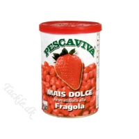 PESCAVIVA SWEETCORN/Majs 340 gr klar til brug - Original STRAWBERRY/Jordbær