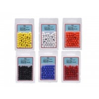 Shakespeare Rig Attractor Beads 8mm White/hvid  - 50 stk.