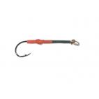 NT Assisthook black nickel/rød str. 4/0 - 5 stk.