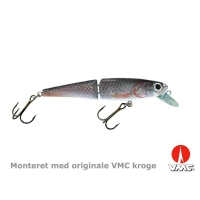 SILVER FOX - Jointed Troll - 16 cm floating - Holo roach