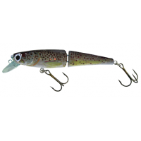 SILVER FOX - jointed trout minnow 16 cm -  brook trout