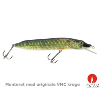 SILVER FOX - Naturistic pike - 10 cm - floating