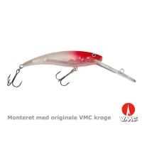 SILVER FOX - Slim deeprunner - 11 cm floating - Red&white