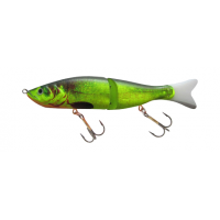 SILVER FOX -Jointed Jerk - 16 cm Sinking - Fluoro Green 233