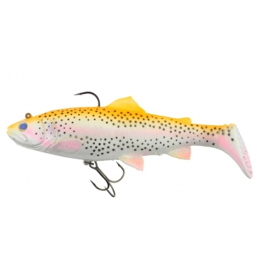 Savage Gear 3D Trout Rattle shad 17 cm - 80 gr.- Golden albino rainbow 02