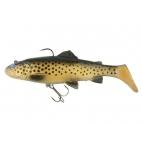 Savage Gear 3D Trout Rattle shad 17 cm - 80 gr. - Dark brown trout 03