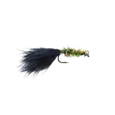 Streamer/Dog nobler grøn/sort str. 4