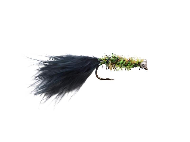Streamer/Dog nobler grøn/sort str. 4 - 5 stk!