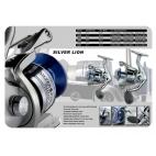 SILVER LION 5000 Fastpolehjul med frontbremse
