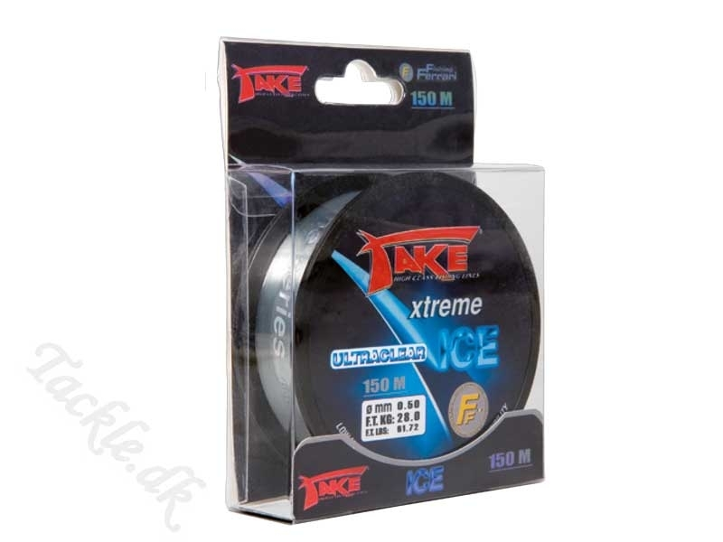 TAKE EXTREME ICE - Ultraclear - 0,30mm - 12 kg - 150 meter