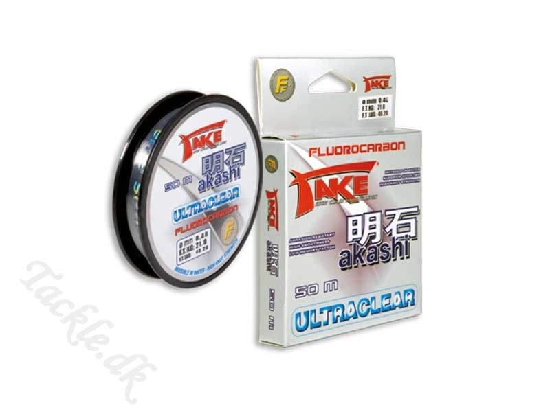 TAKE AKASHI ULTRACLEAR - FLUOROCARBON 0,12mm - 2,55 kg - 100 meter